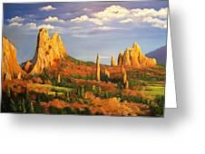 Colorado Red Rocks Greeting Card