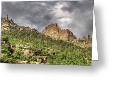 Colorado Ridgeway Greeting Card