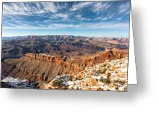 Colorado River And The Grand Canyon Greeting Card