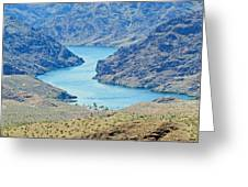 Colorado River Arizona Greeting Card