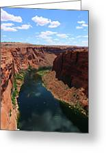 Colorado River At Glen Canyon Dam Greeting Card