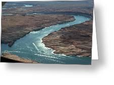 Colorado River In Arizona Greeting Card