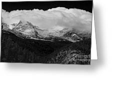 Colorado Rocky Mountains Continental Divide Greeting Card