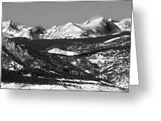 Colorado Rocky Mountains Greeting Card