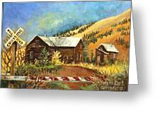 Colorado Shed Greeting Card
