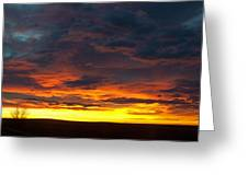 Colorado Sunrise February Greeting Card