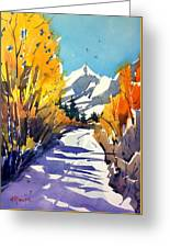 Colorado Winter 1 Greeting Card