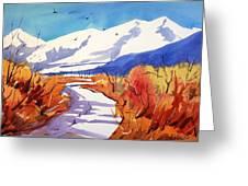 Colorado Winter 2 Greeting Card