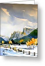 Colorado Winter 5 Greeting Card