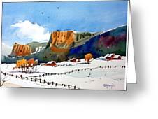 Colorado Winter 6 Greeting Card