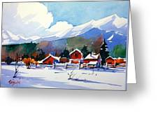 Colorado Winter 8 Greeting Card