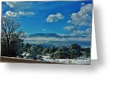 Colorado Winter Greeting Card