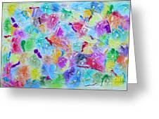 Colorama 3 Greeting Card