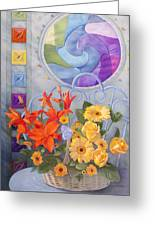 Colordance Of Summer Greeting Card