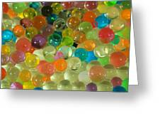 Colored Balls Greeting Card