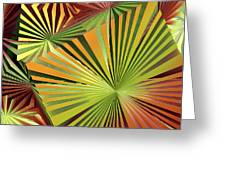 Colored Box Abstract Greeting Card