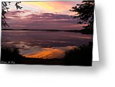 Colored Reflections Greeting Card