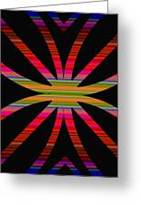 Colorful Abstract 11 Greeting Card