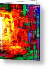 Colorful Abstract2of2 Greeting Card