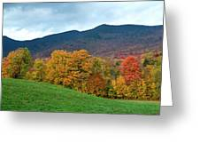 Autumnal Vermont Greeting Card