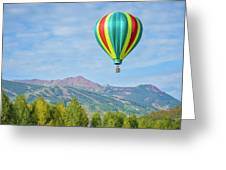 Colorful Balloon  Greeting Card
