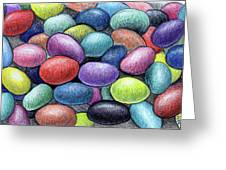 Colorful Beans Greeting Card