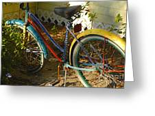 Colorful Bike Greeting Card