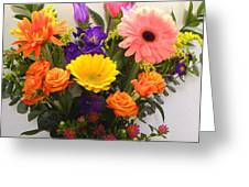 Colorful Bouquet Greeting Card