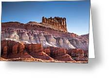 Colorful Castle Peak Greeting Card