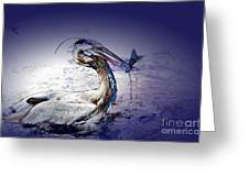 Colorful Catch Greeting Card