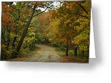 Colorful Country Greeting Card