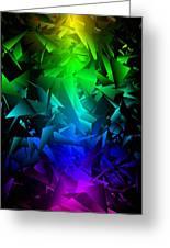 Colorful Crash 6 Greeting Card