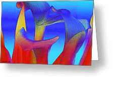 Colorful Crowd Greeting Card