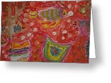 Colorful Deep Sea Greeting Card