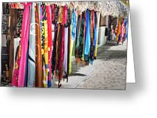 Colorful Dominican Garments Greeting Card
