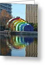 Colorful Downtown Orlando Greeting Card