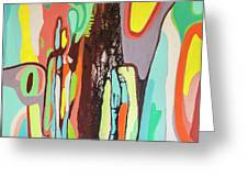 Colorful Earth Day Greeting Card