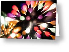 Colorful Explosion K878 Greeting Card