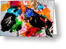 Colorful Expression 13 Greeting Card