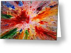 Colorful Expression-9 Greeting Card
