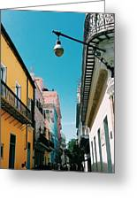 Colorful Facades Greeting Card
