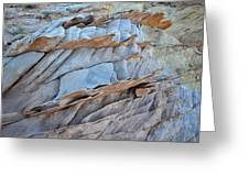 Colorful Fins Of Sandstone In Valley Of Fire Greeting Card