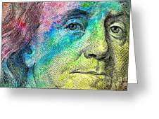 Colorful Franklin Greeting Card