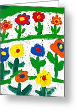 Colorful Garden Greeting Card