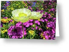 Colorful Garden II Greeting Card