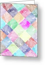 Colorful Geometric Patterns IIi Greeting Card