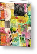 Colorful Geometric Greeting Card