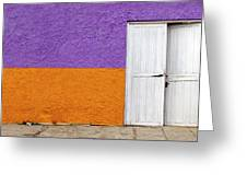 Colorful In Negril Greeting Card