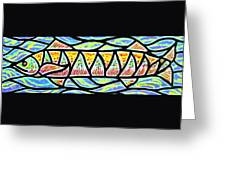 Colorful Longfish Greeting Card