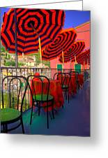 Colorful Lunchtime. Greeting Card